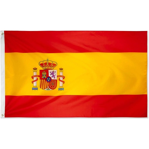 Large Spanish Flag 90cm x 150cm - 3ft x 5ft