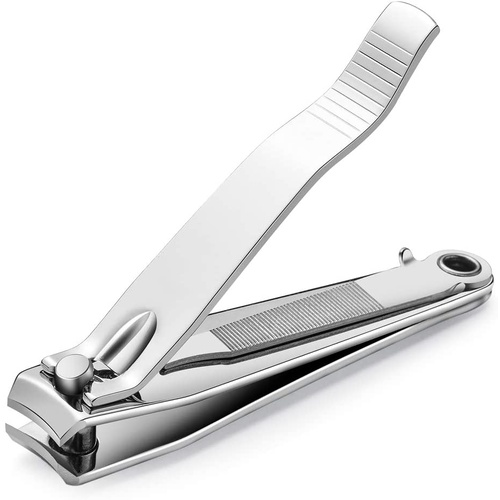 Professional Nail Clippers Toe Finger Nail Clipper Cutter with Pick & Filer