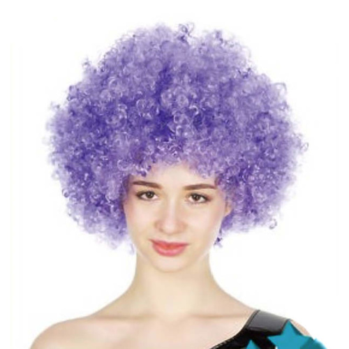Afro Wig - Purple